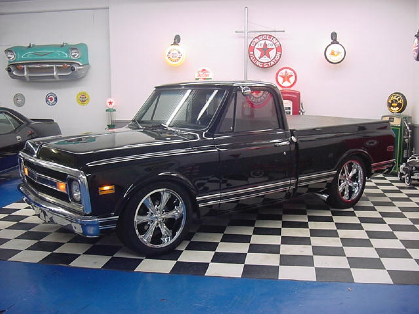 1968 Chevrolet C-10 517.990.2646 | Midwest Muscle Cars