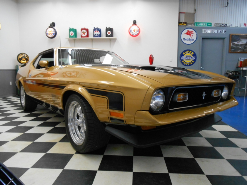 1972 Ford Mach 1 | Midwest Muscle Cars