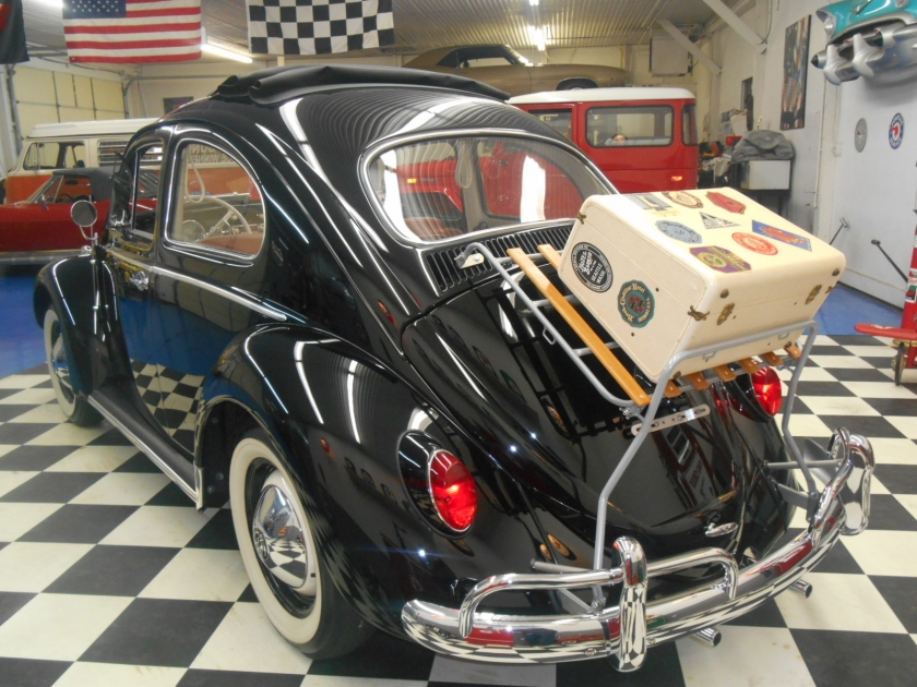 1962 Volkswagen Beetle Type 1 Sunroof | Midwest Muscle Cars