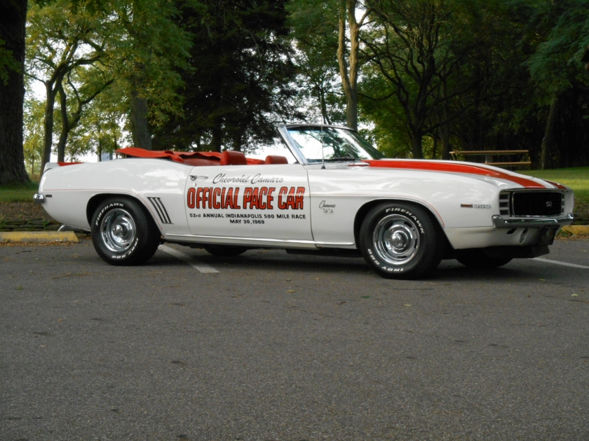 Cash For Cars Com >> 1969 Chevrolet Camaro Indy Pace Car Convertible | Midwest ...